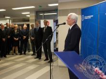Az ünnepségen beszédet mond Prof. Dr. Bódis József, a PTE rektora