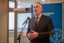 Köszöntőt mond Dr. Páva Zsolt, Pécs Megyei Jogú Város polgármestere